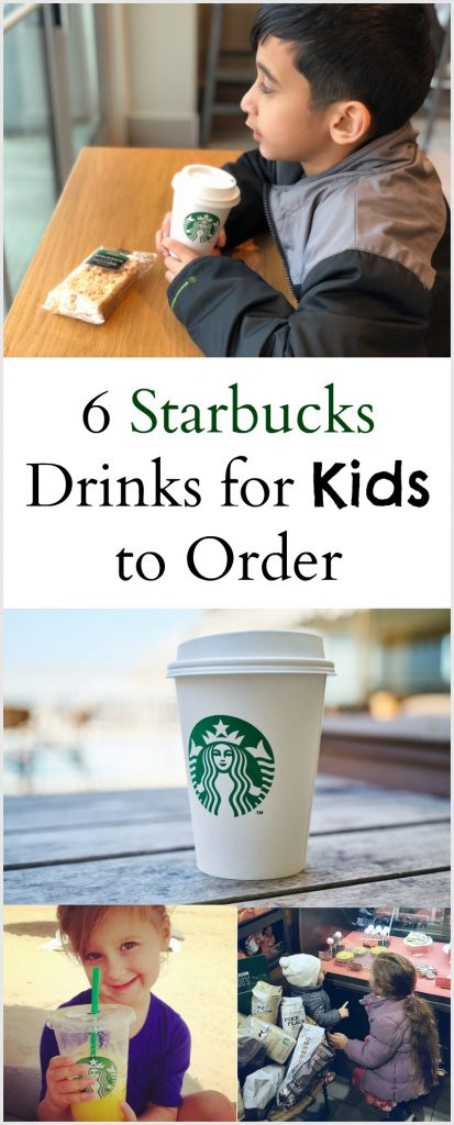 6 Starbucks Drinks for Kids to Try