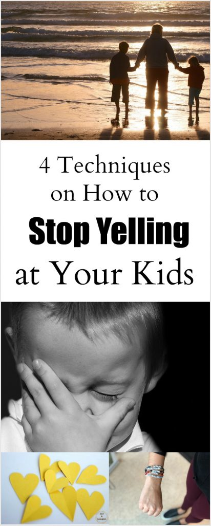Techniques to help you stop yelling at your kids