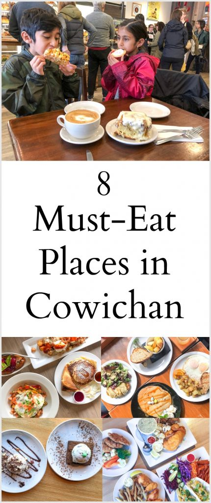 8 Places to Eat in Cowichan, BC