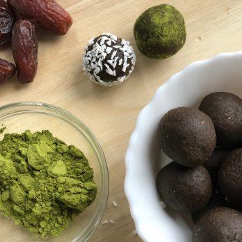 Matcha Energy Balls Recipe