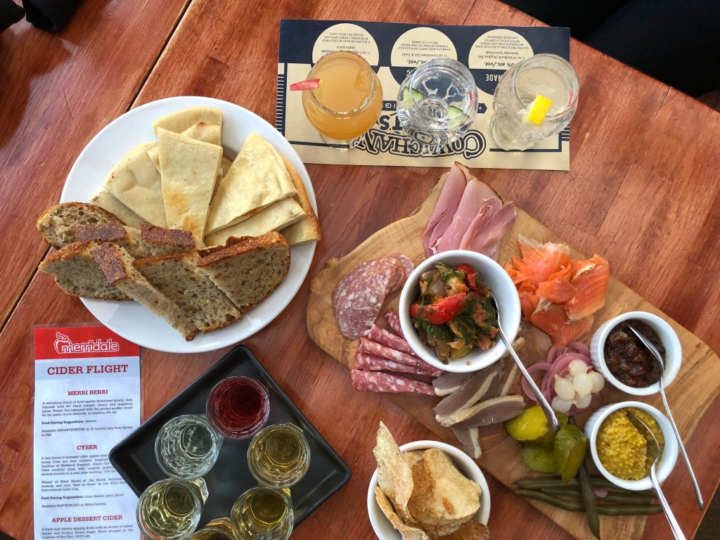 Places to Eat in Cowichan - Merridale Distillery and Eatery