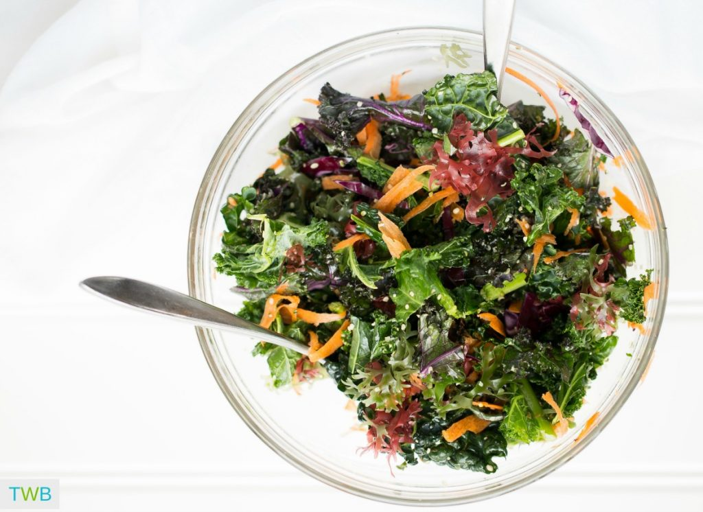 How to Balance Hormones Naturally - leafy greens