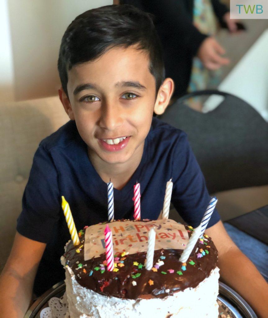 Keyan's 9th birthday at Vancity OCR