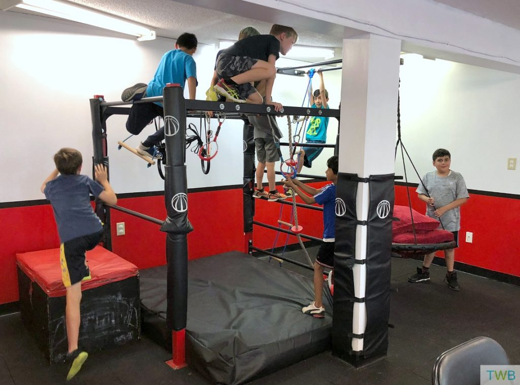 Vancity OCR - party room play structure
