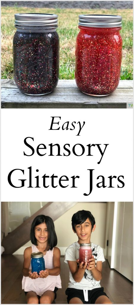 Sensory Glitter Jar
