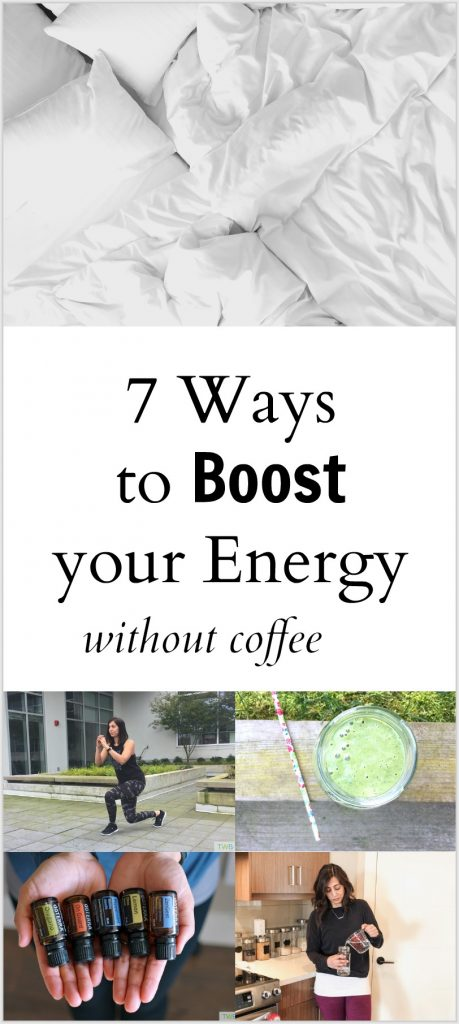 7 Ways to Boost Your Energy Without Coffee - pinterest