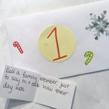 Homemade Kindness Advent Calendar