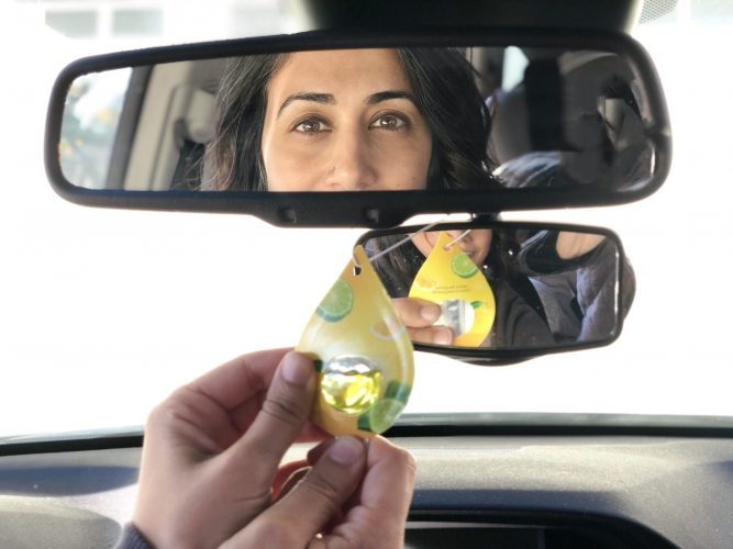How to make your car smell better and look better