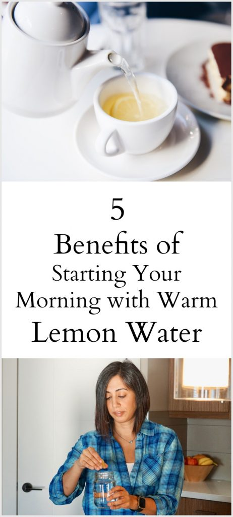 5 Benefits of Drinking Warm Lemon Water