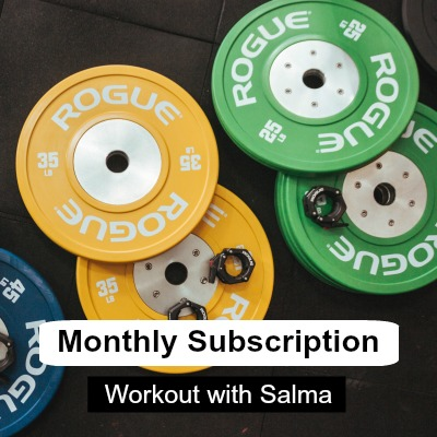Monthly subscription - Workout with Salma
